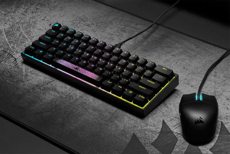 CORSAIR K65 RGB Mini 60% 機械式鍵盤開箱,為電競而生,追求極...7198