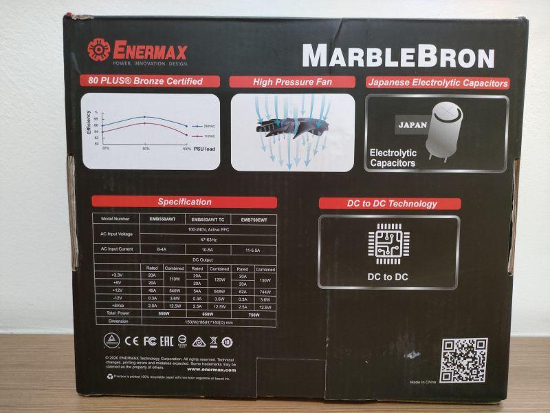 銅競魔MARBLEBRON 650W 銅牌認證 解決您電源線卡側板的問題 - 11