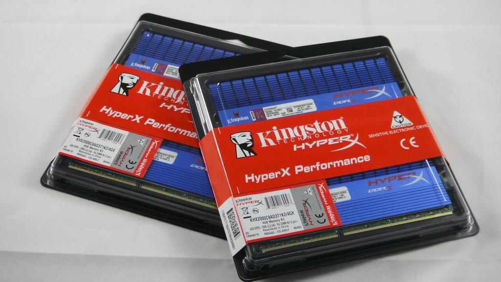 極速降溫,Kingston HyperX T1 DDR3-2000 2GB*4 - XFastest - DSC00658.jpg