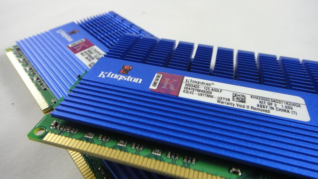 極速降溫,Kingston HyperX T1 DDR3-2000 2GB*4 - XFastest - DSC00671.jpg