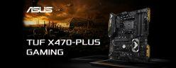 ASUS TUF X470-PLUS GAMING 主機板 / 高階防護超耐久、入門價格好入手[XF]