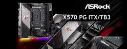 ASRock X570 Phantom Gaming-ITX/TB3 / AMD 平台採用 Intel 散熱孔位的創新設計,ITX 也能有優質用料。