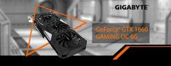 無 Ti 入門 GIGABYTE GeForce GTX 1660 GAMING OC 6G 測試報告
